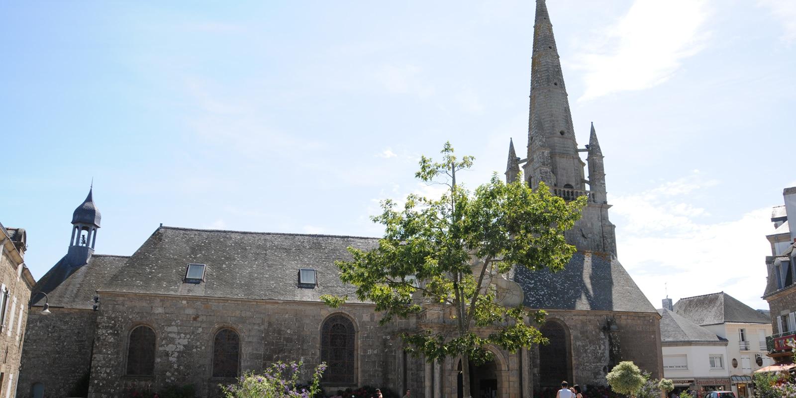 L'église Saint Cornély à Carnac