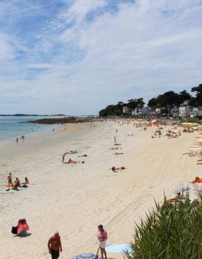 Webcam view of Légenèse beach in Carnac